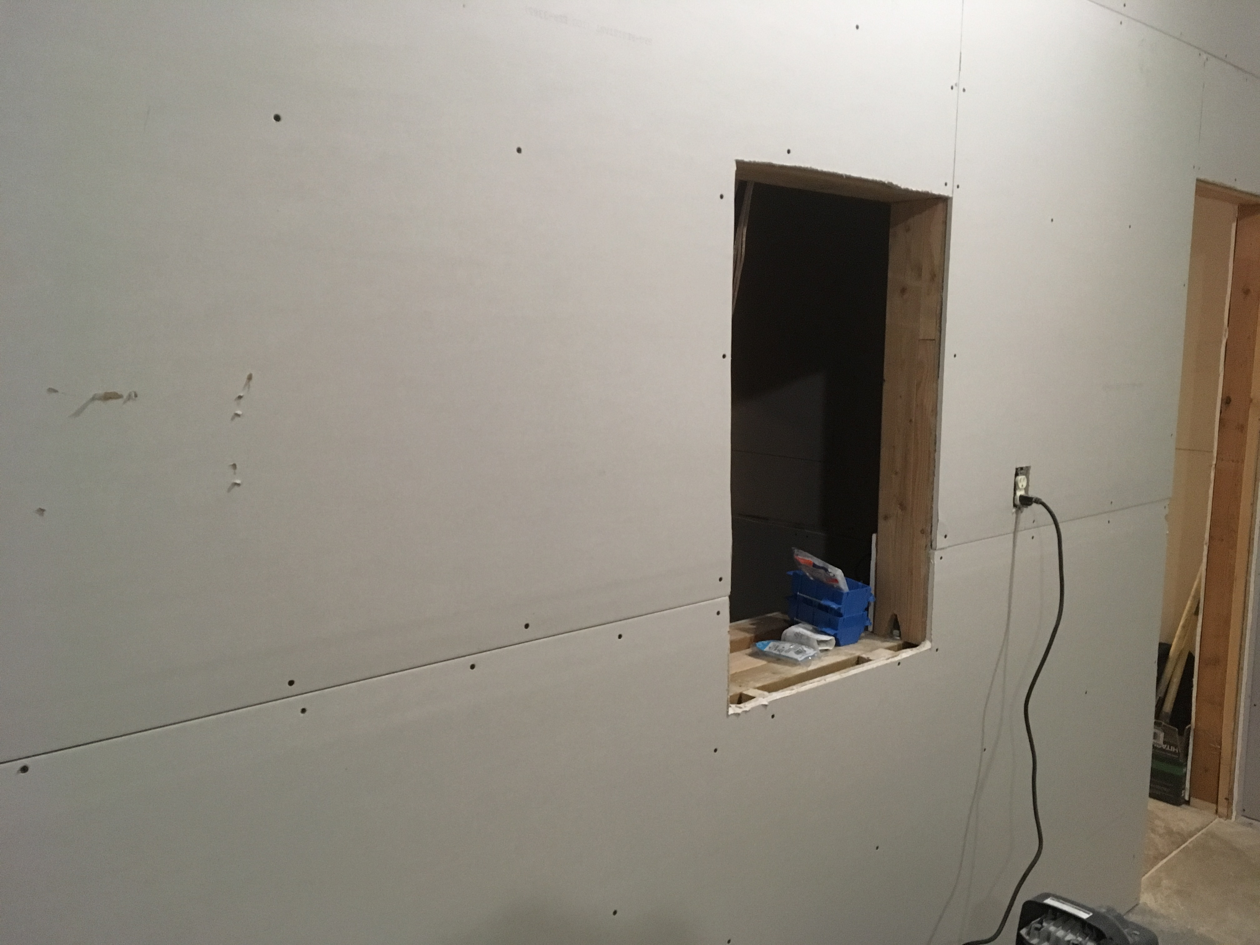 The Movie Theater Of House Electrical Wiring Entertainment Room In Pictures You Can See Front With Placement And Center Speaker Boxes We Built Those Out Mdf Board To Ensure